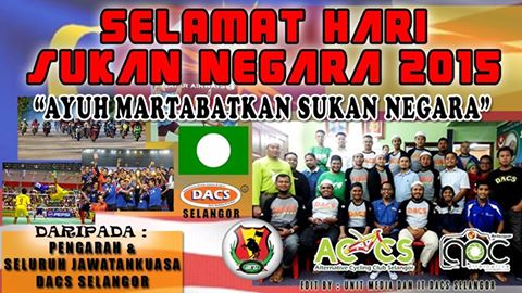 HARI SUKAN NEGARA 2015 - FIT MALAYSIA