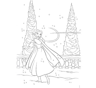 Disney Princess Anastasia Character Coloring Pages Picture