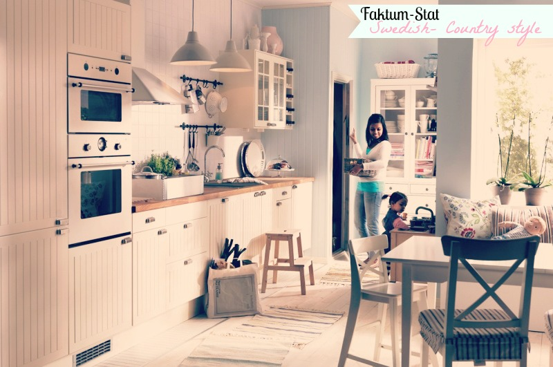 Shabby country life come progettare una cucina ad ikea for Arredamento country chic ikea