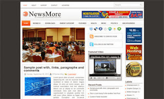 News More - Free News Blogger Template