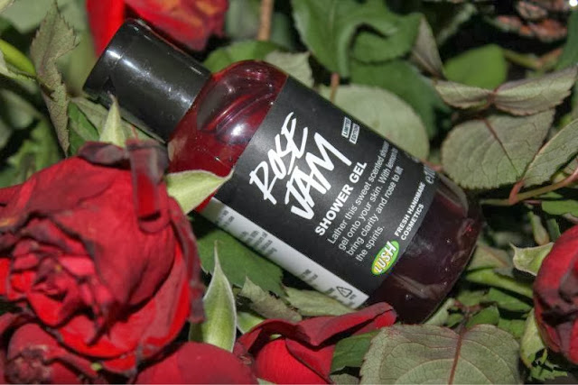 Lush Rose Jam Shower Gel