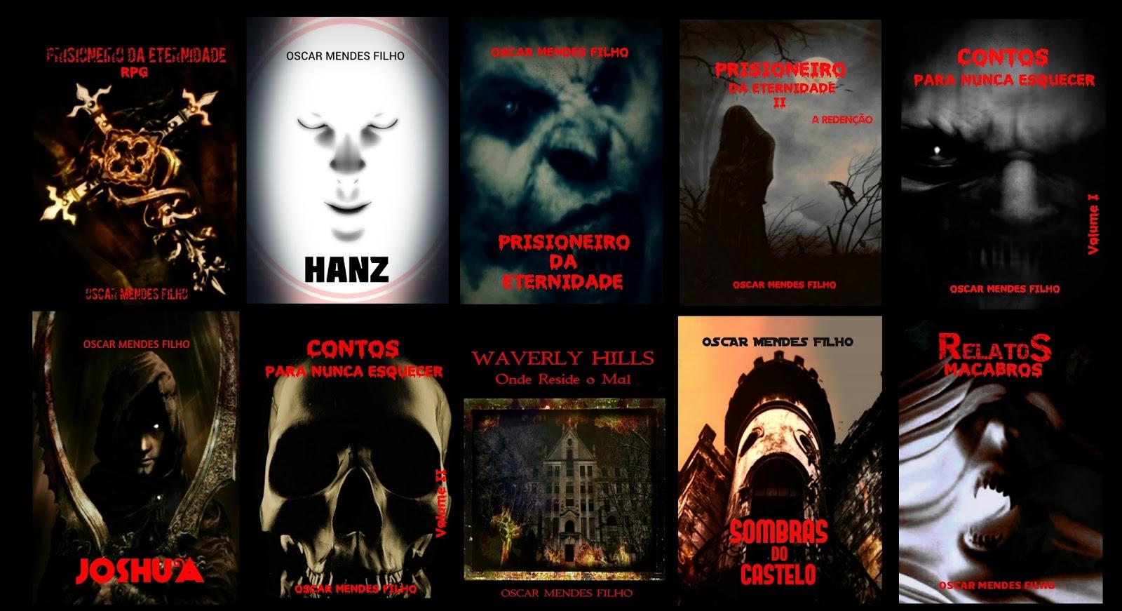 livros de horror