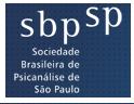 Sociedade brasileira de Psicanálise - SP