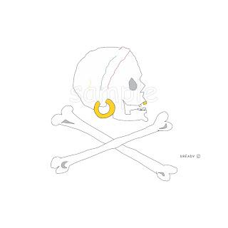 Dready, Dready Art and Everything Dready dready+pirate+skull+and+cross+bones