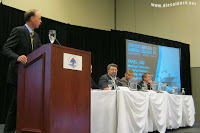 CIMarE National Chair and Co Host of the MariTech 2012 introducing the Safety Panel discussion