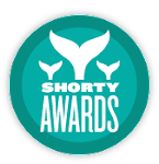 2011 and 2012 Shorty Award Winner