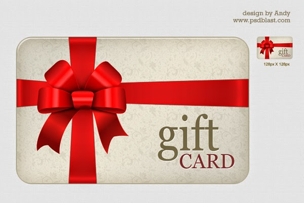 PSD High Resolution Gift Card