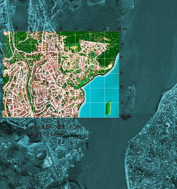 Exemplo para a construção de um Mapa de Vitória. [Draft]