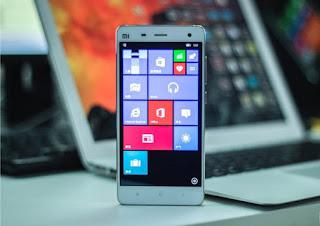 Ponsel Xiaomi Dapat Memiliki Kemampuan Menjalankan Windows 10 mobile