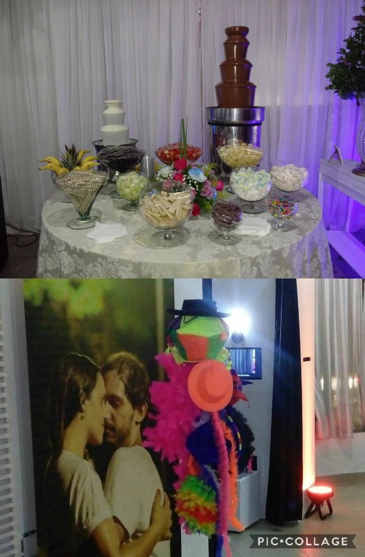 Lambuzando Eventos & Turma da Selfie Cascatas de Chocolate e Cabines de Fotos