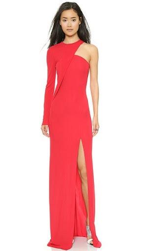 baju gaun dan dress valentine wanita terbaru 2016/2017