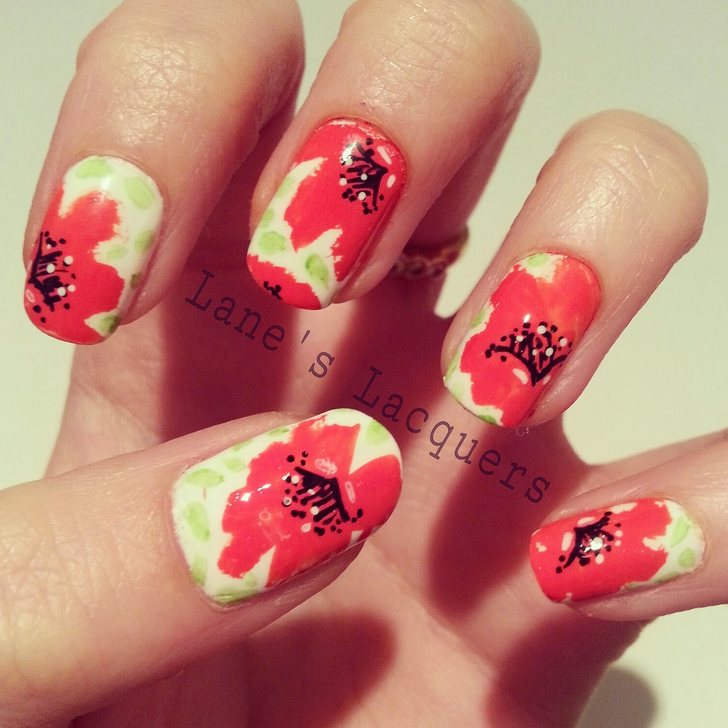 barry-m-rememberance-day-poppy-nail-art