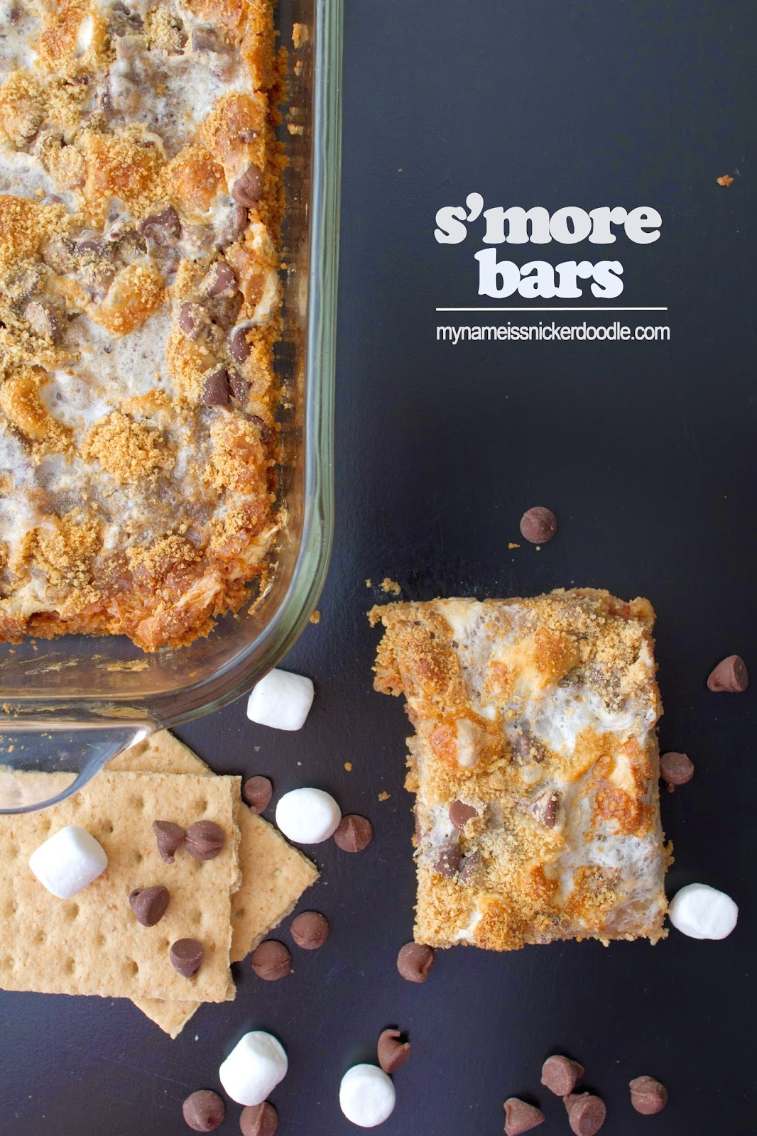 S'more Bars | My Name Is Snickerdoodle