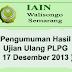 Inilah Hasil Ujian Ulang PLPG Tanggal 17 Desember 2013