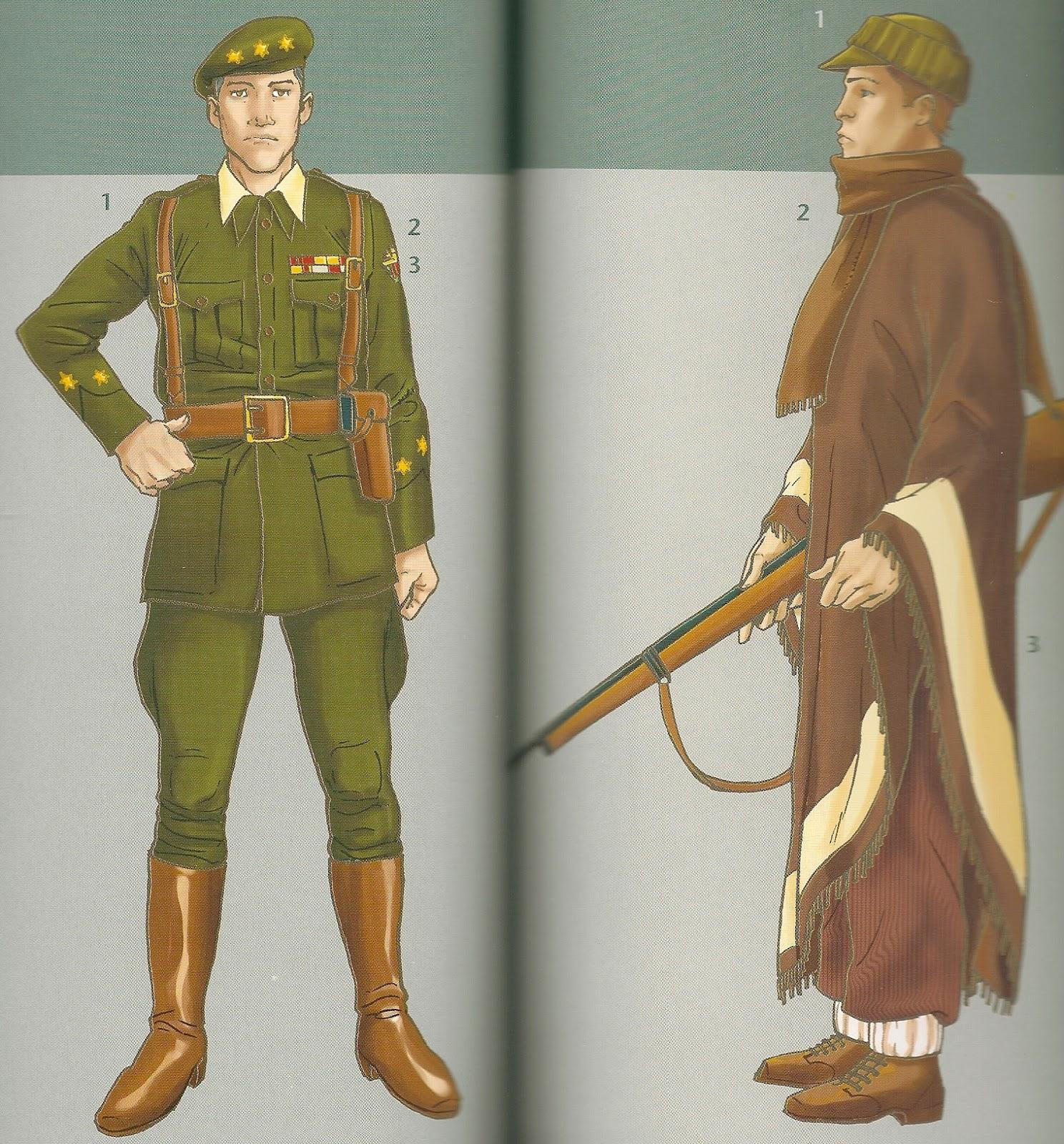 Uniformes de la Guerra Civil Espaola 1936-1939