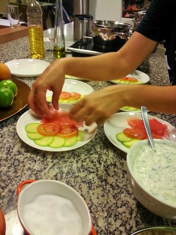 carpaccio de melancia