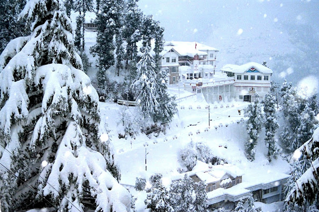 Himachal Pradesh snow