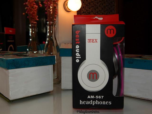 Comprei: Fone de Ouvido Mex Beats