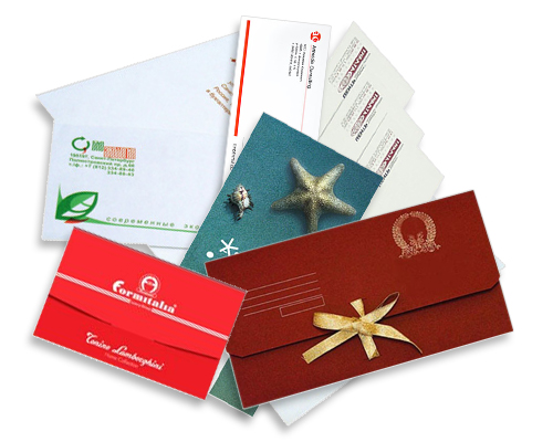 Советы при выборе печати наклеек и конвертов с логотипом
