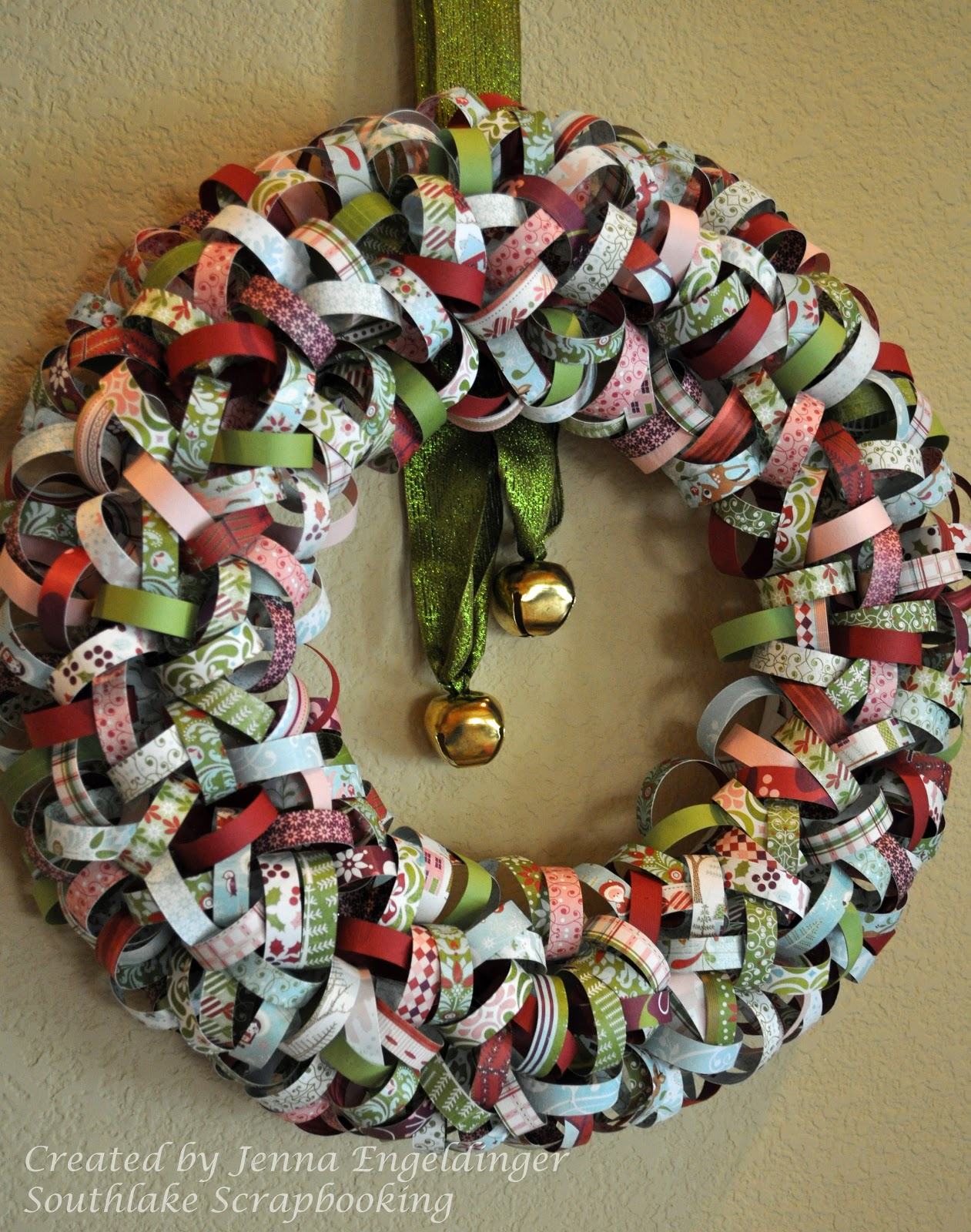 Southlake Scrapbooking Christmas Wreath