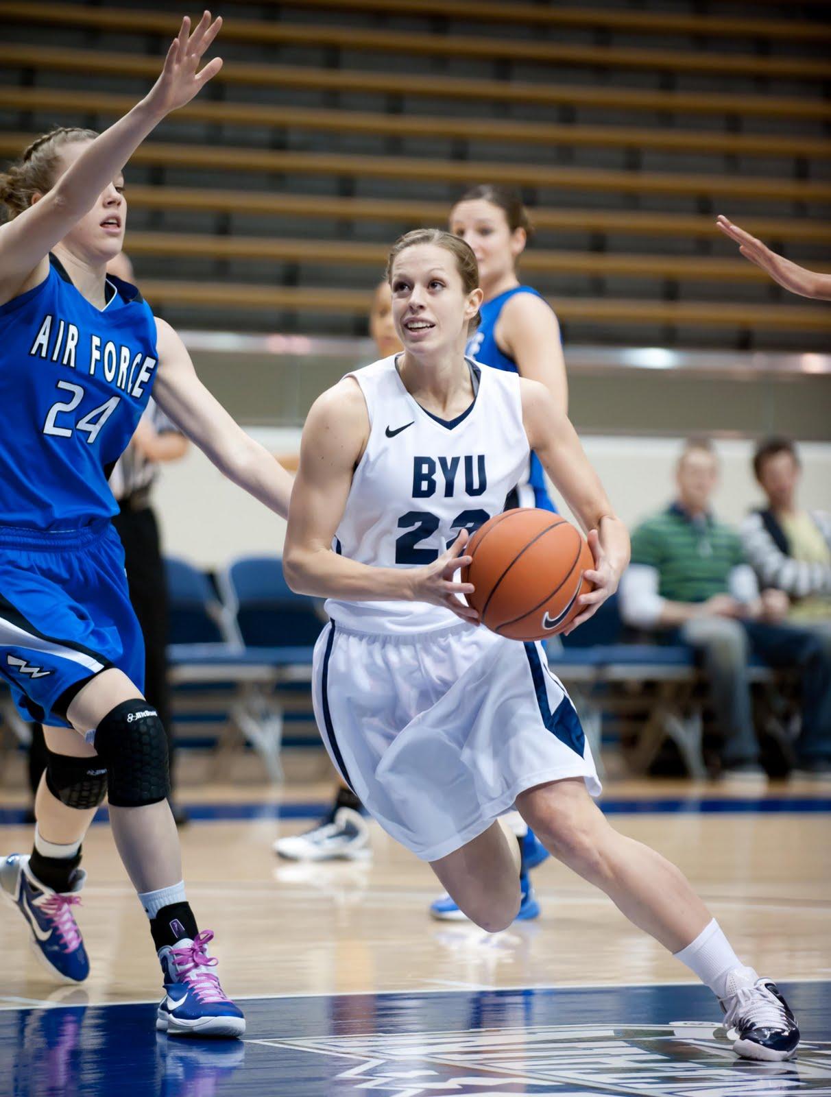 Luke Hansen Photography: BYU Women's Basketball vs Air Force