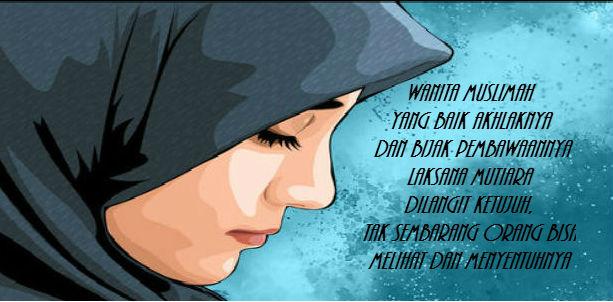 Kata Kata Bijak Islami Tentang Wanita Solehah - Katabijaklogs