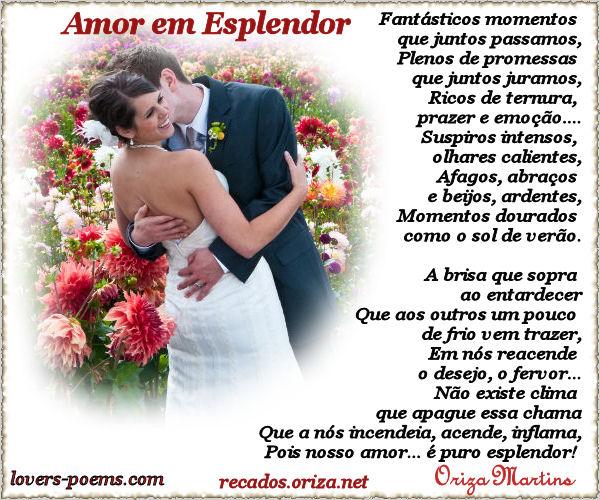 Poemas De Amor Em Portugues