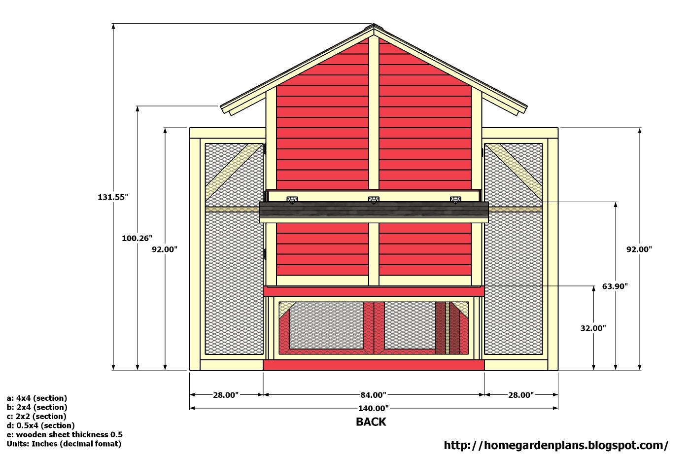 Farm Chicken Information Chicken Coop Plans 8 X 8
