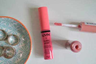 NYX Butter Gloss Peaches and Cream