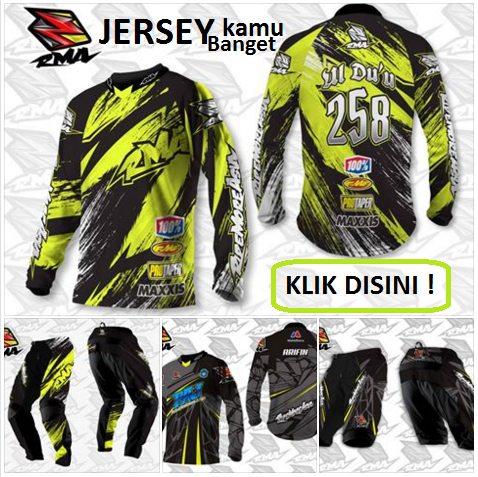 Jersey Custom RMA Ride More Asia untuk sepeda motocross trail