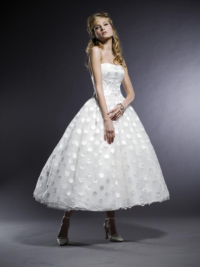 50s Tea Length Wedding Dress 71 Vintage I specially love tea