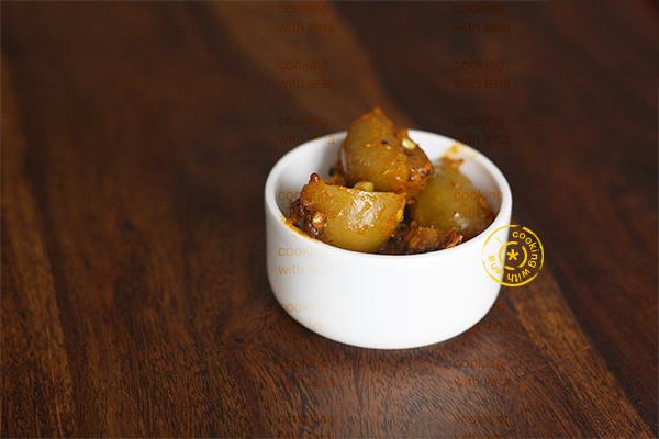 naranga achar / Lemon pickle