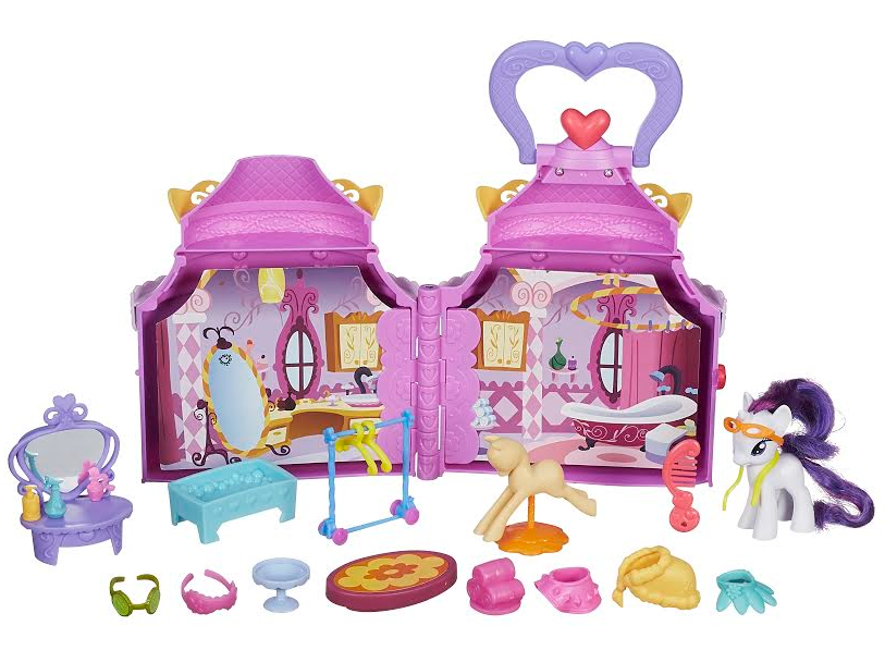 Perfect Each set sold separately Available at most major toy retailers nationwide and on HasbroToyShop MY LITTLE PONY