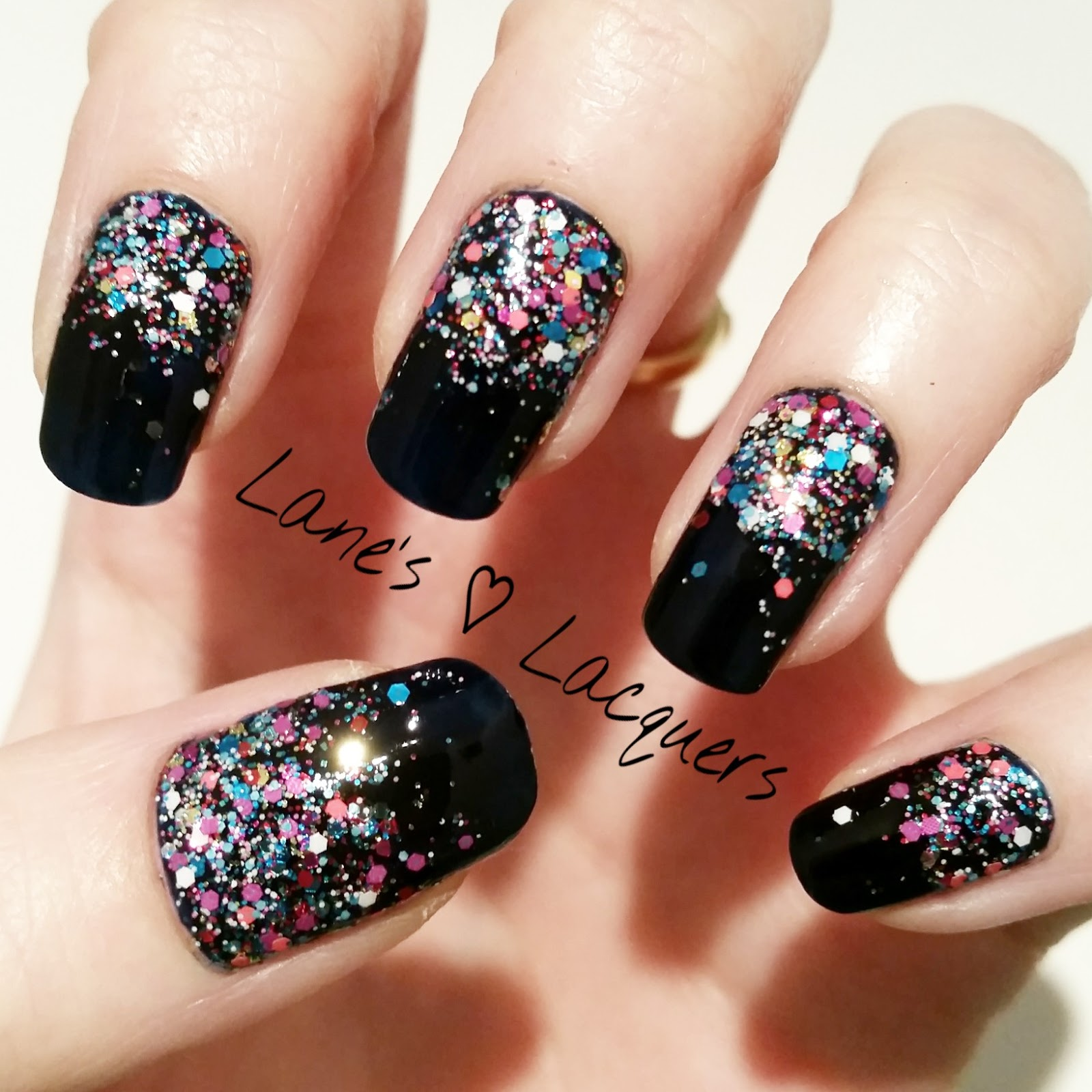 Lane\'s Lacquers: 40 Great Nail Art Ideas: New Year