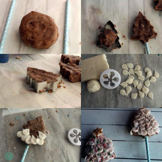 cake pops árbol de navidad kidsandchic 6