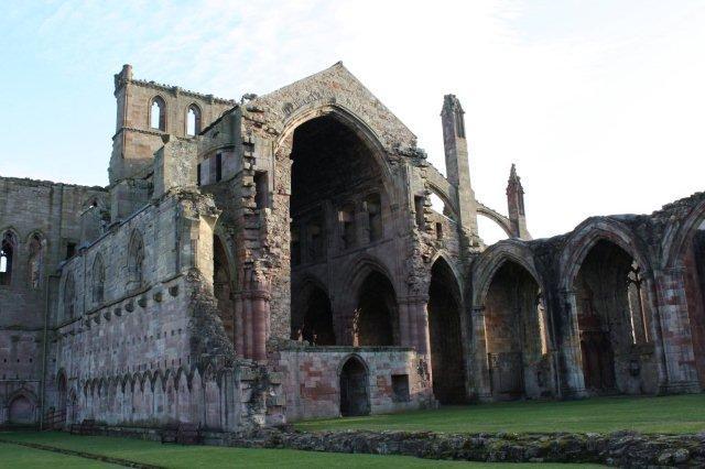 Abadia de Melrose, Borders escoceses