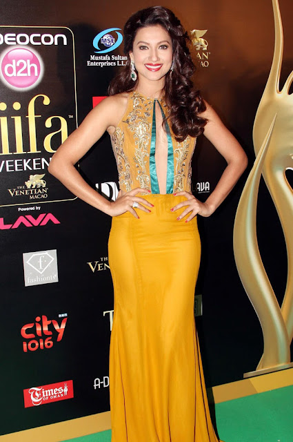 Indian Model and Actress Gauhar Khan At IIFA 2013