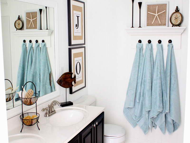 Beach Bathroom Themes   Cheap bathroom decorations make your own distressed  glass cabinet. Beach Bathroom Themes  Beach bathrooms inspired bathroom ideas