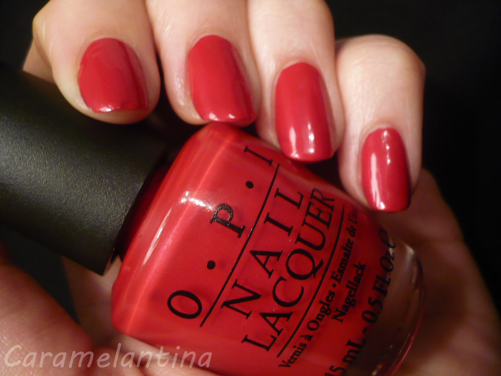Opi Opi Red, opiniones swatch review