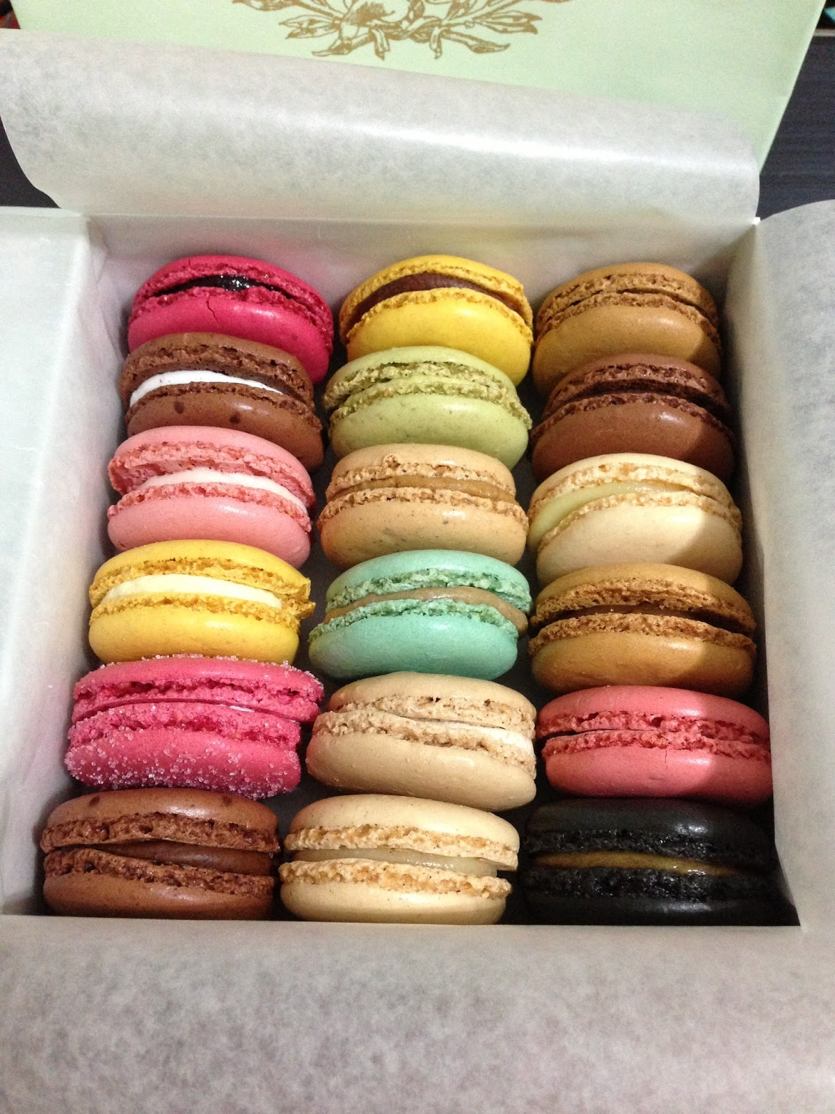 ... that i think i am finally going to end my summer fling with macaroons