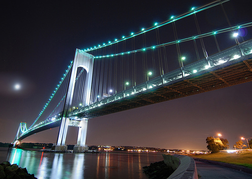 The Tallest Verrazano Narrows Bridge