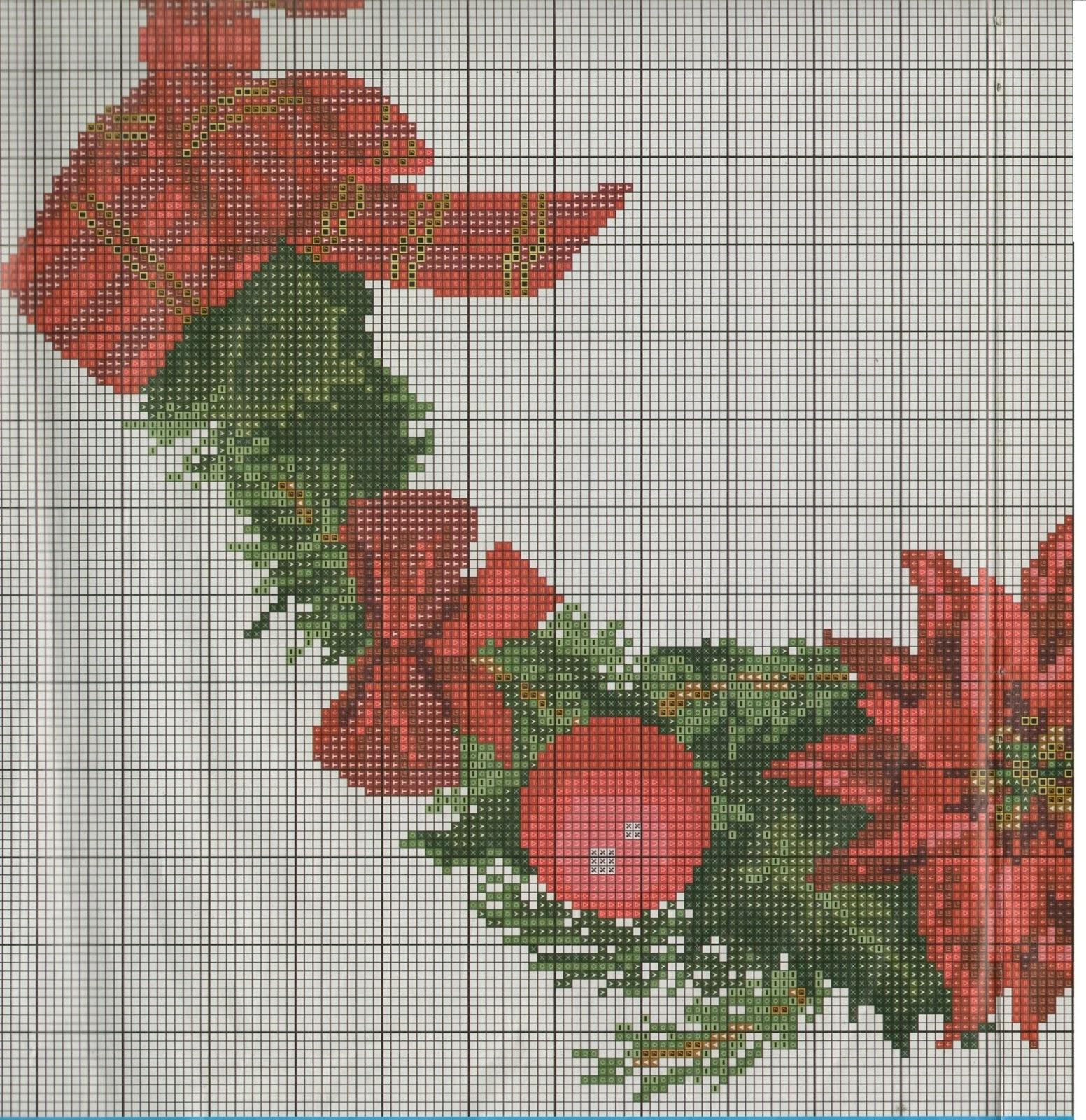 Assez Professione Donna: Schema punto croce: La ghirlanda di Natale per  JI13