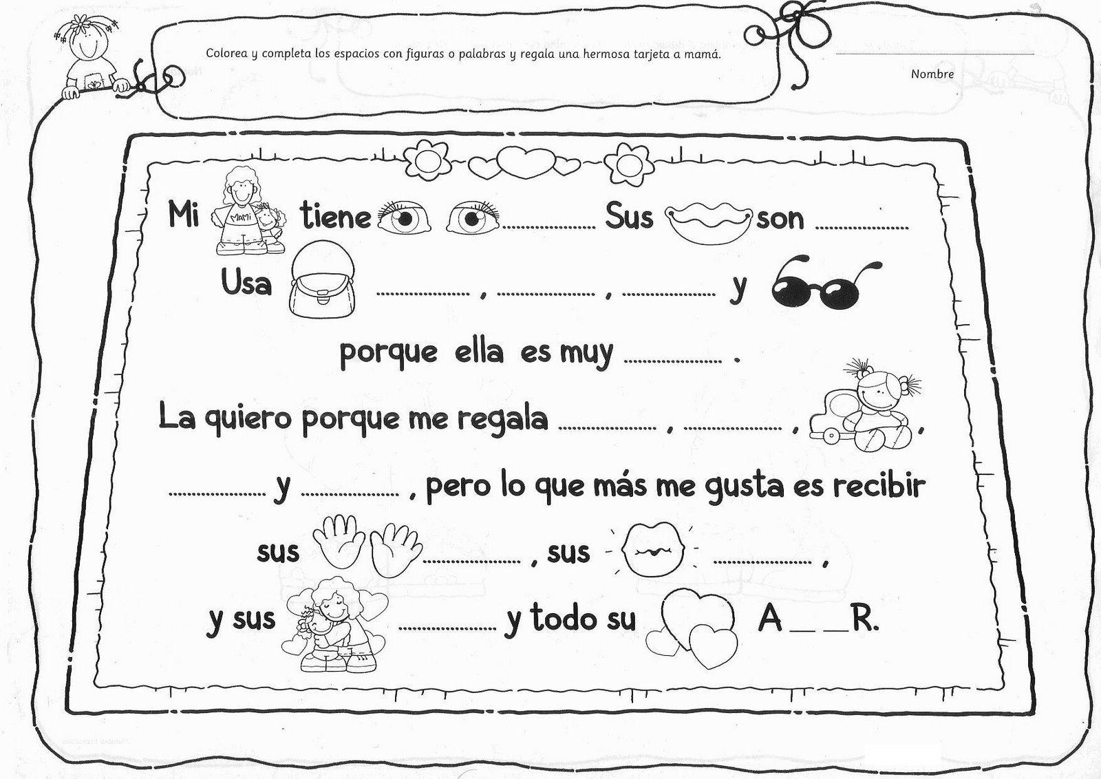 Actividades Para Nios De Preescolar De Navidad. Plantillas Y Fichas ...
