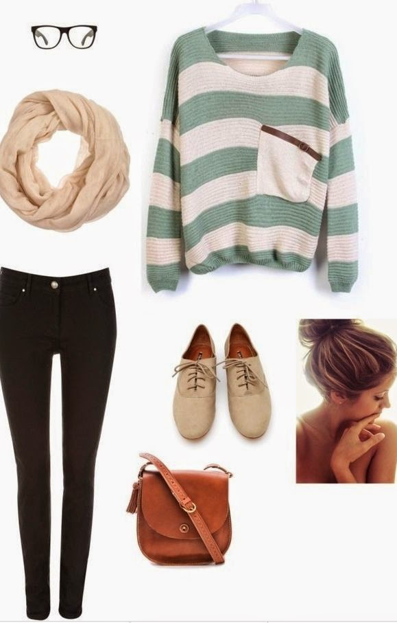 does anybody else think this is a perfect look for finals week for first/fall & winter semester?   See More http://worldcutefashion.blogspot.com/