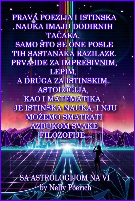 SA ASTROLOGIJOM NA VI & Carska NAUKA& Elite Astrologer Nelly Poerich
