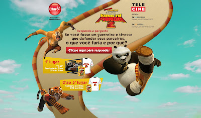 Concurso Cultural Kung Fu Panda 2 - Claro TV