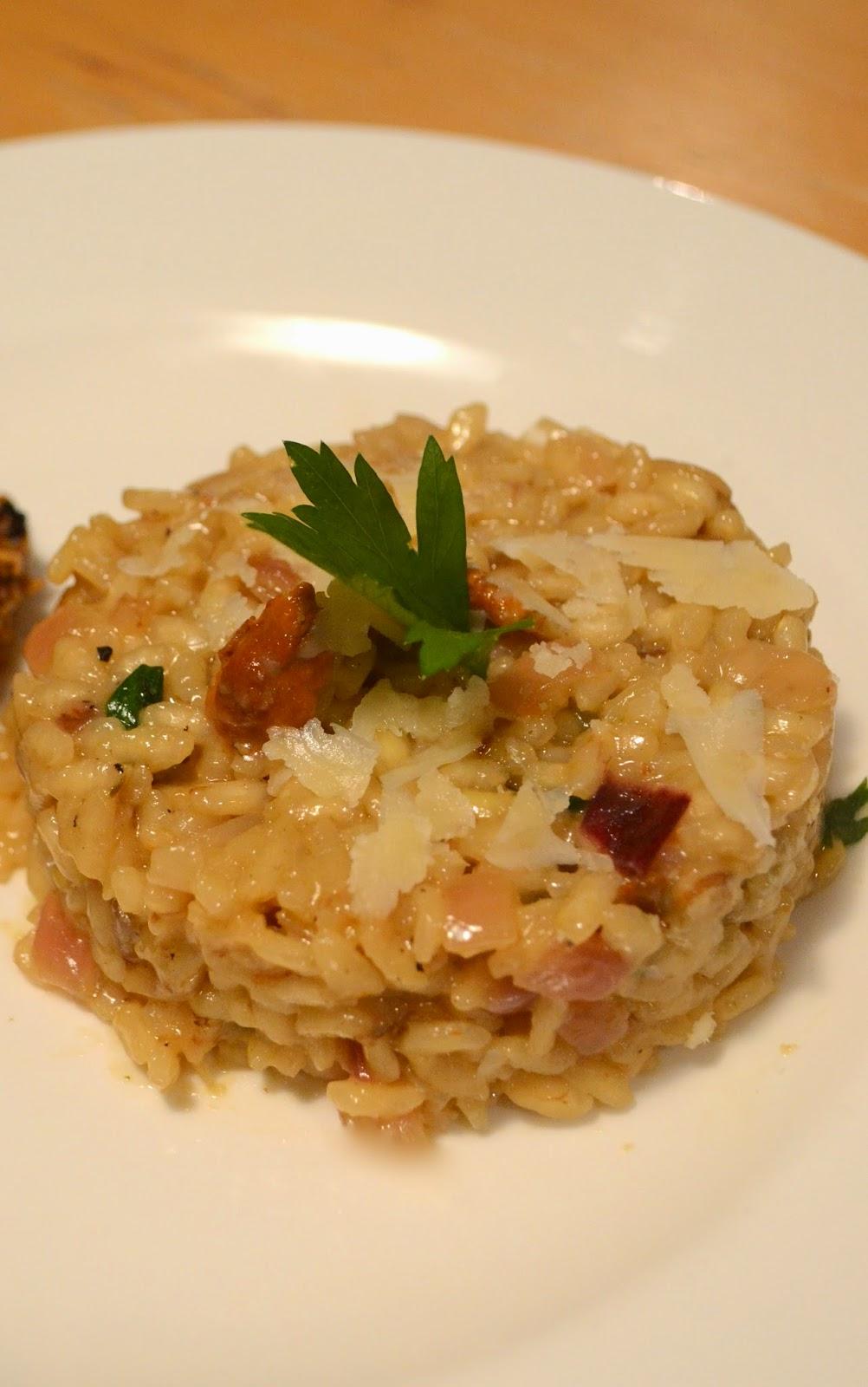 Les petits plats dans les grands risotto aux champignons - Cuisiner les coulemelles ...