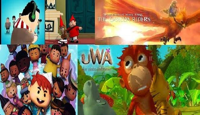 10 Film Kartun Terbaik Buatan Indonesia