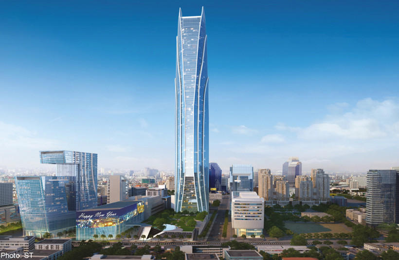 Rama IX Super Tower in Bangkok, Thailand