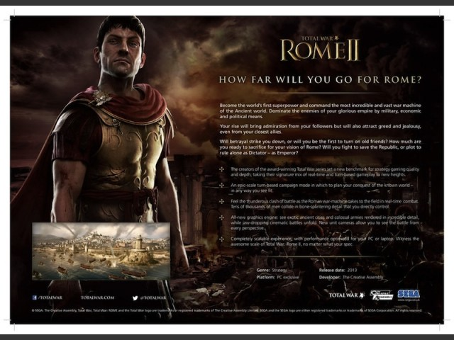 tw rome 2 system requirements - photo#4